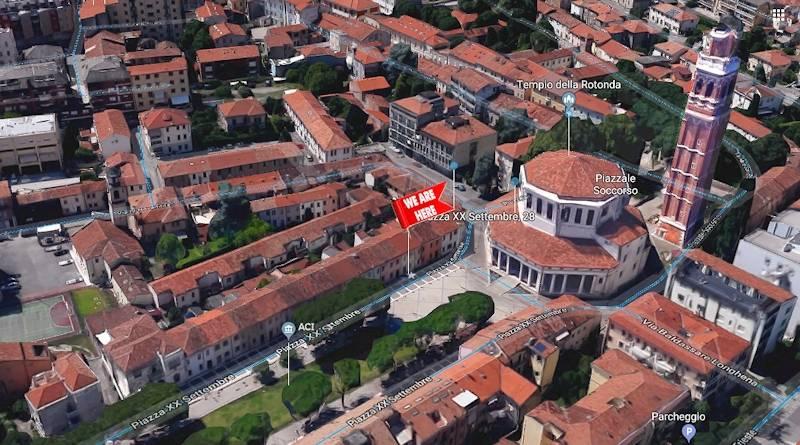Posizione, mappa della nostra casa vacanze 28 alla Rotonda