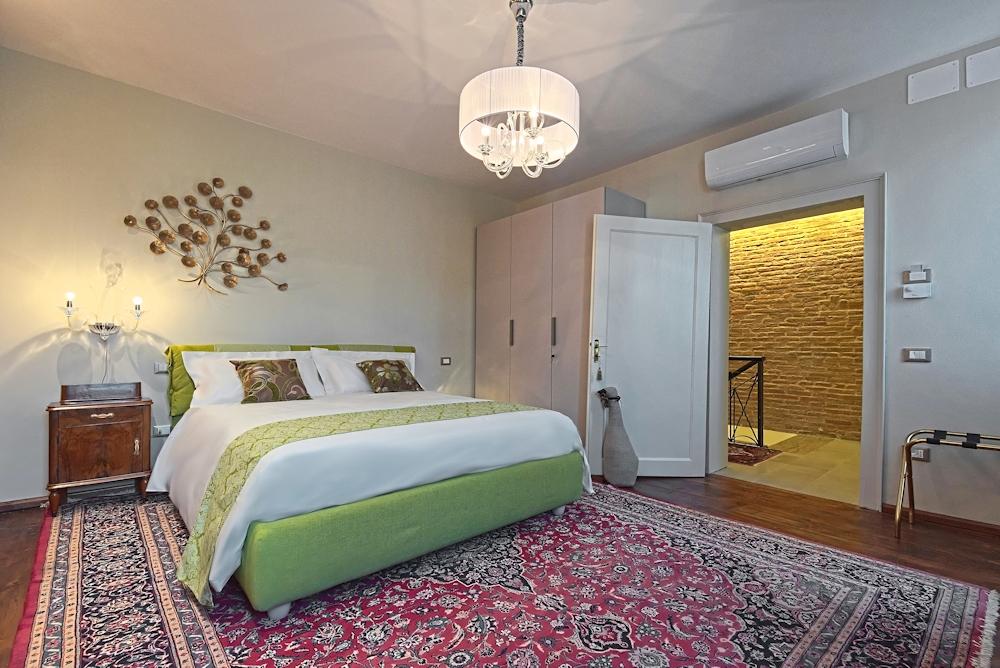 Silvia room ovvero la stanza verde al primo piano di 28 alla Rotonda